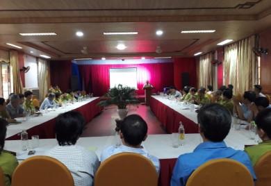 Hội nghị giao ban quý III Khối Lâm nghiệp tỉnh Thừa Thiên Huế