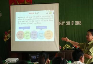Hội thảo truyền thông về REDD+ cho các đối tượng, cộng đồng trong vùng giảm phát thải Tỉnh Thừa Thiên Huế
