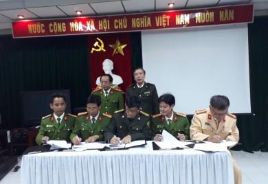 Hội nghị ký kết quy chế phối hợp